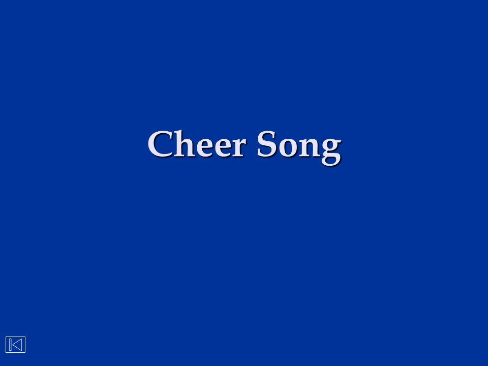 Cheer Song