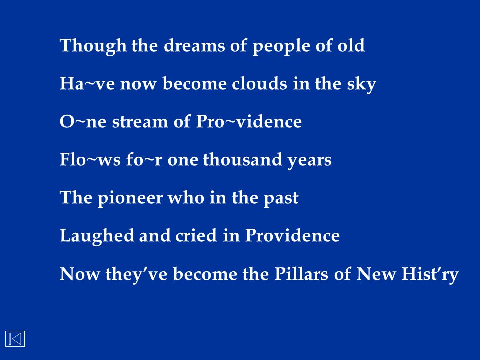Though the dreams of people of old