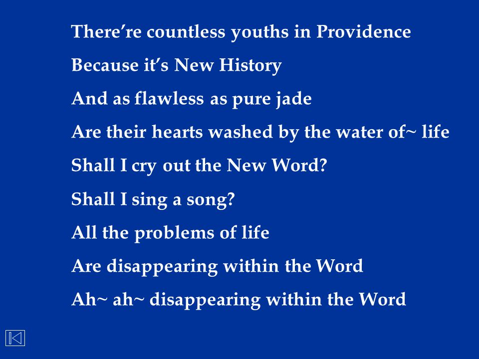 There're countless youths in Providence