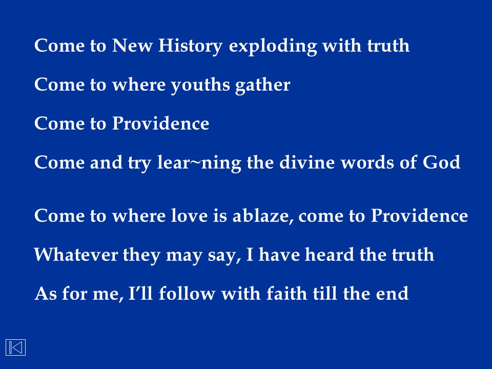 Come to New History exploding with truth