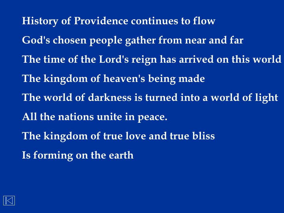 History of Providence continues to flow