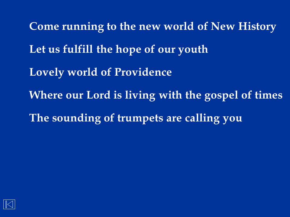 Come running to the new world of New History