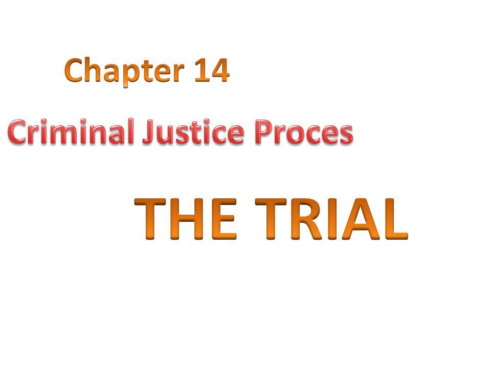 Criminal Justice Proces