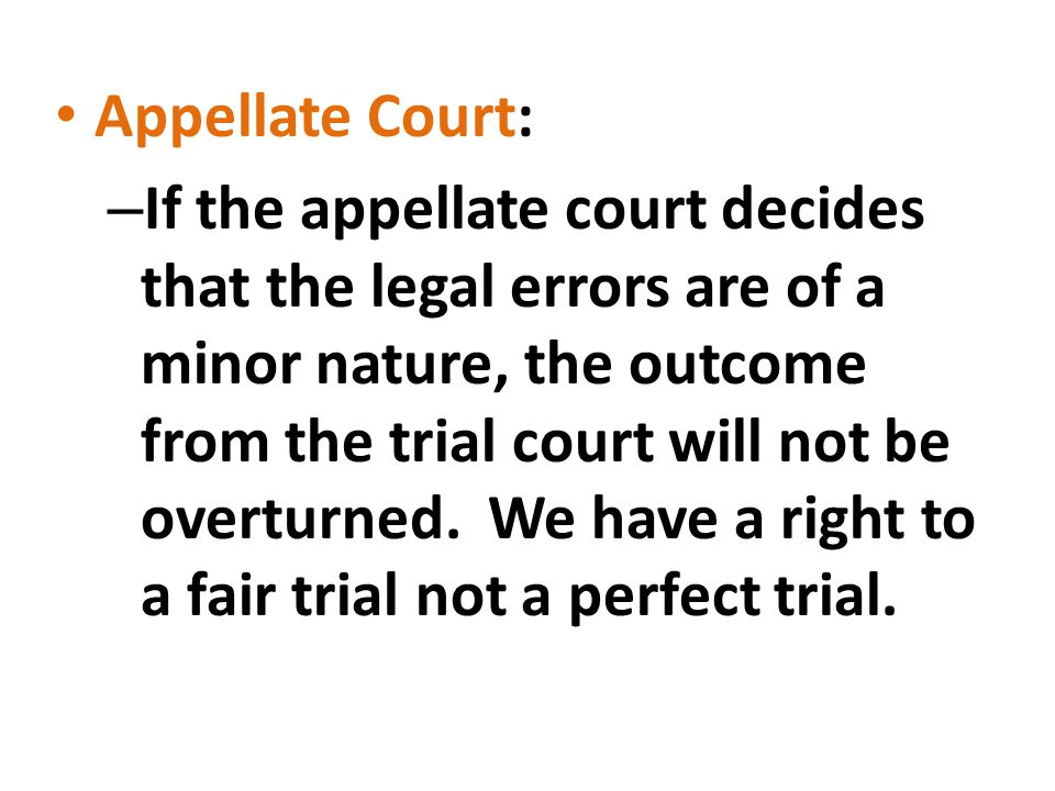 Appellate Court: