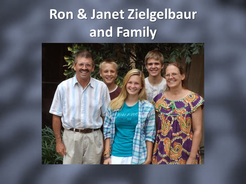Ron & Janet Zielgelbaur and Family
