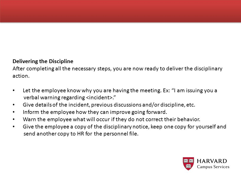 Delivering the Discipline