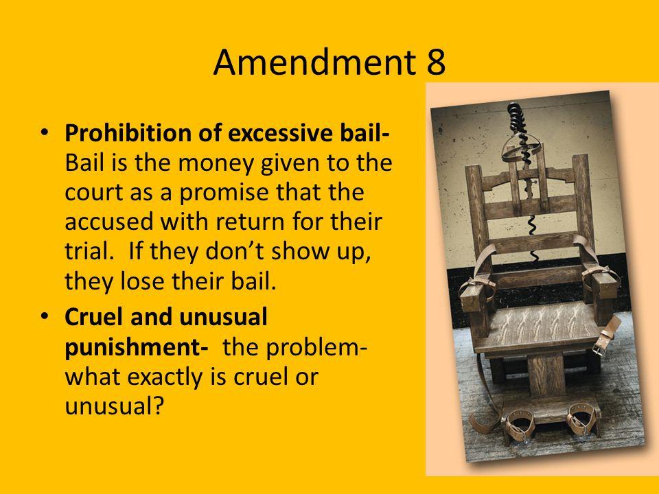 Amendment 8