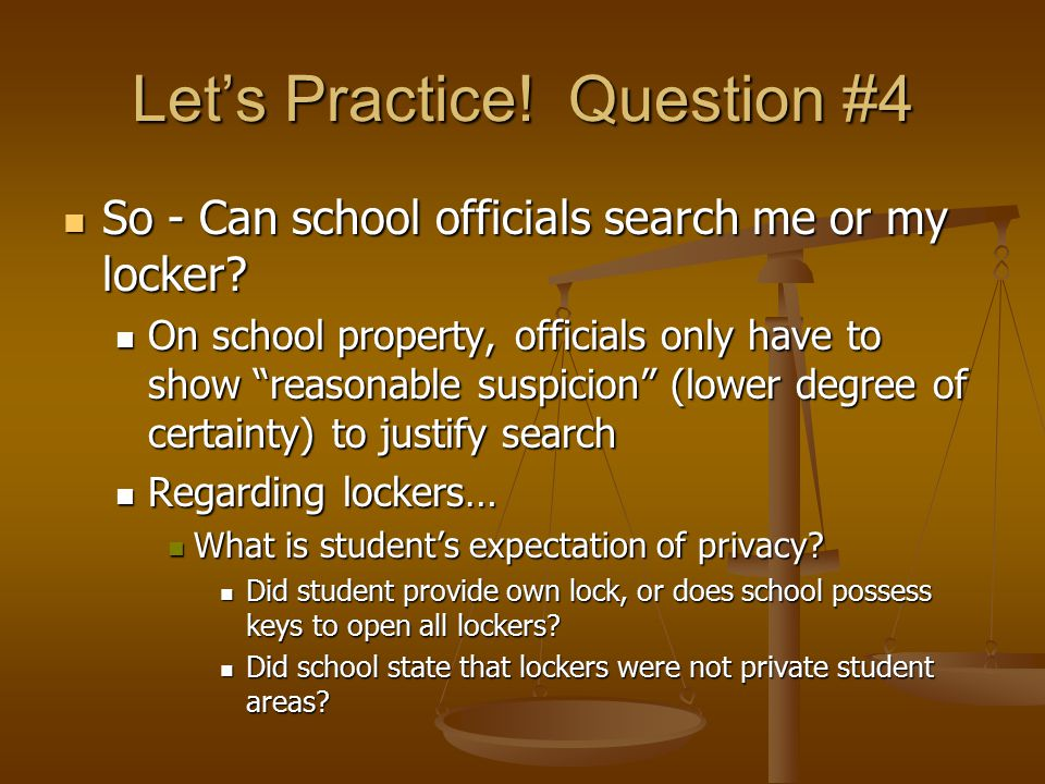 Reasonable Suspicion School Searches Government – ...