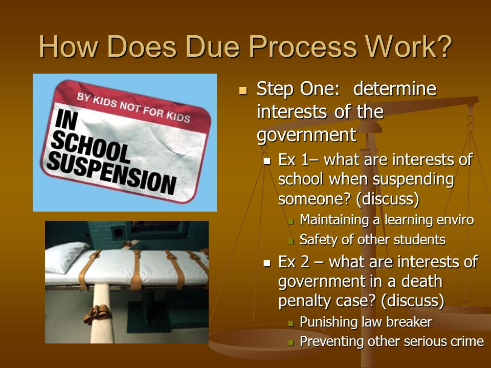 determining student due process and privacy Identifying and evaluating students for special education services  or to request a due process  to settle a problem about the student's education due process.