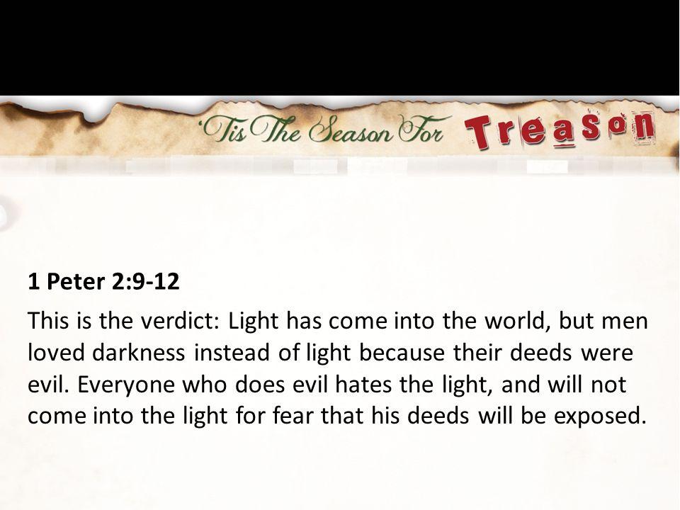 1 Peter 2:9-12