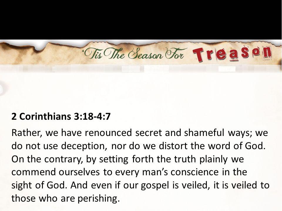 2 Corinthians 3:18-4:7