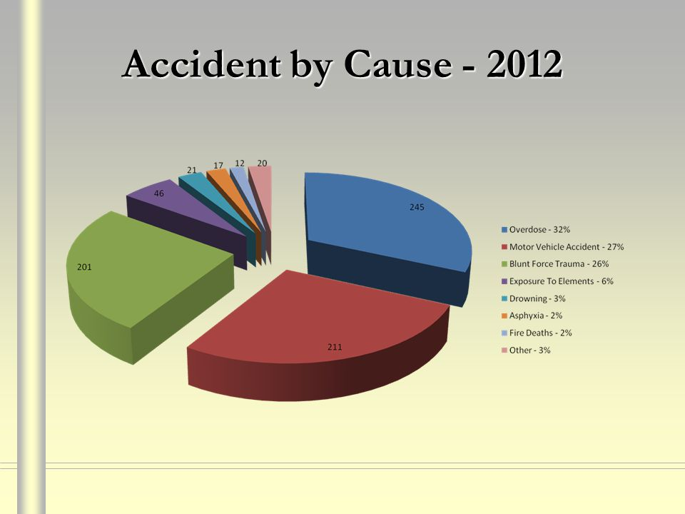 Accident by Cause - 2012