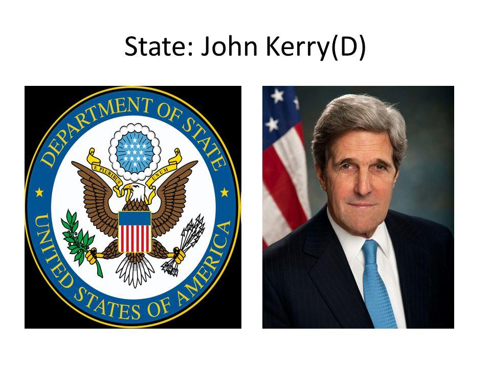 State: John Kerry(D)