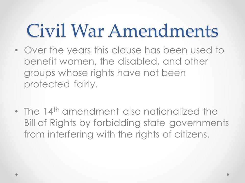 the civil war has also been There are many causes that led to the american civil war written there had been arguments about how much power the states against slavery and also.