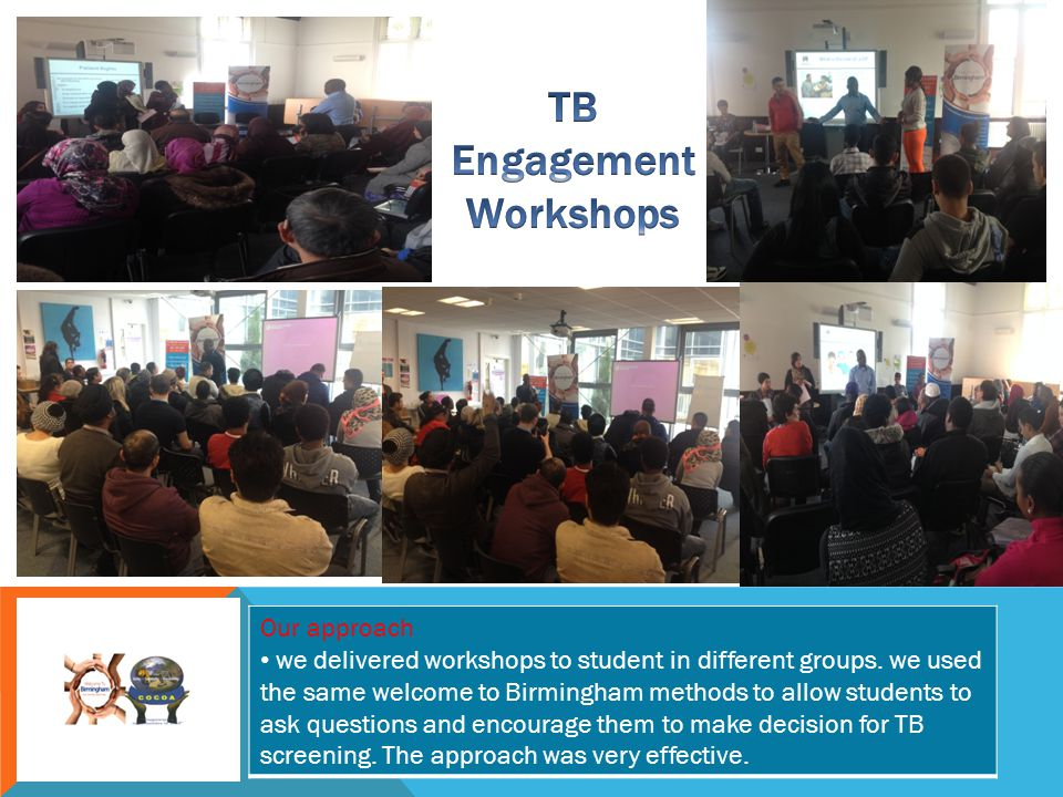 TB Engagement Workshops