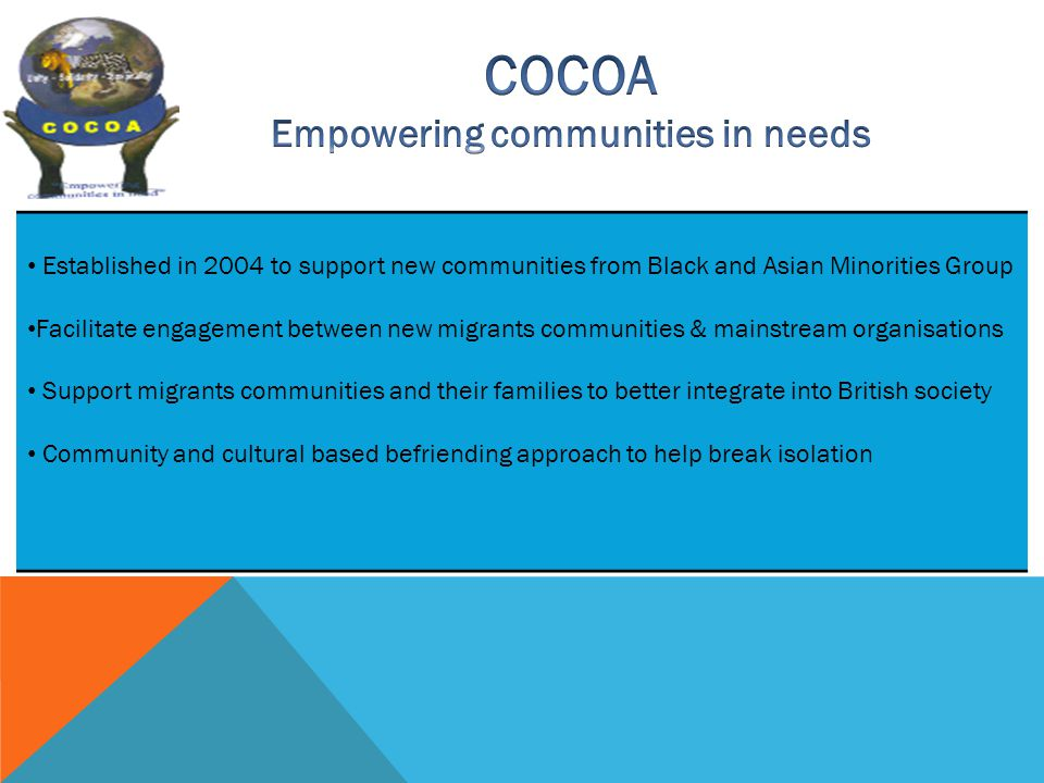 Empowering communities in needs