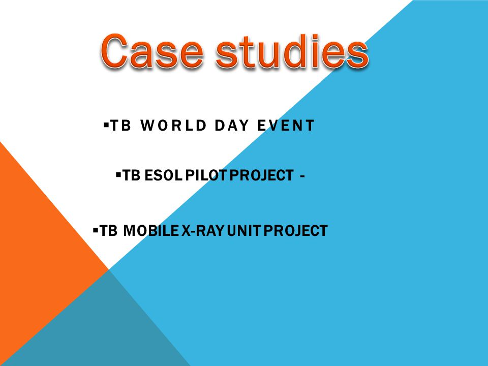 TB Mobile X-RAY UNIT PROJECT