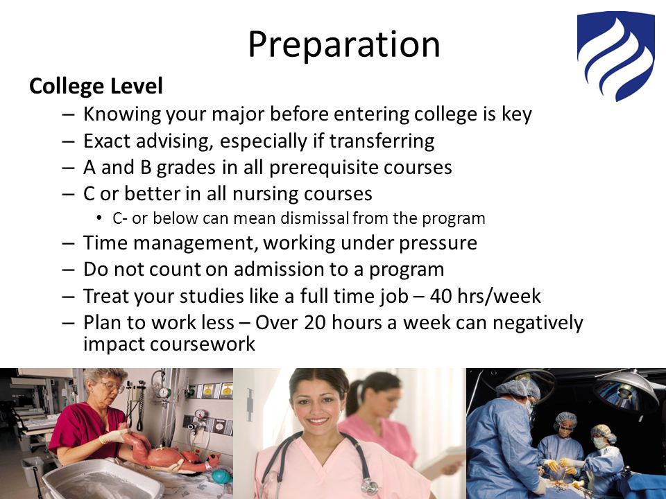 Preparation College Level