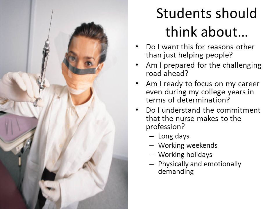 Students should think about…