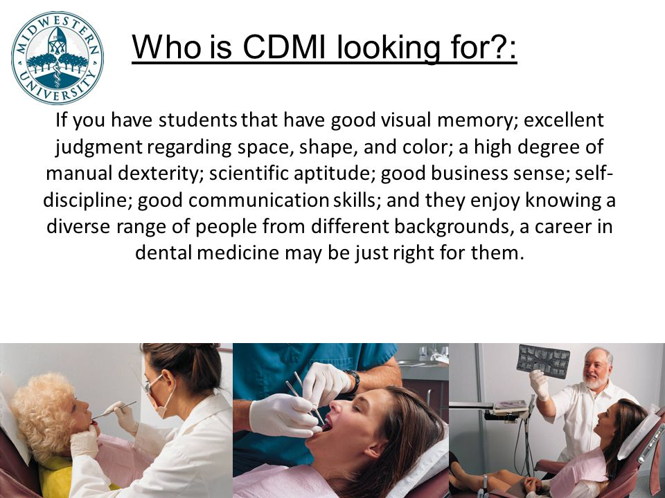 Who is CDMI looking for :