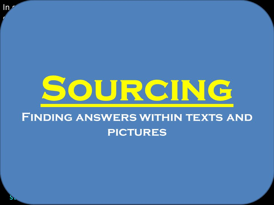Finding answers within texts and pictures