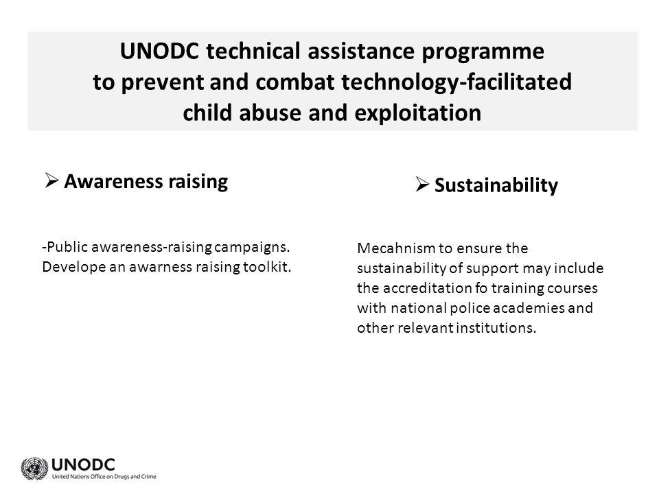 UNODC technical assistance programme
