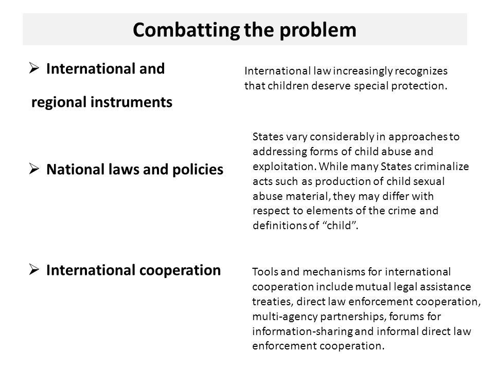 Combatting the problem