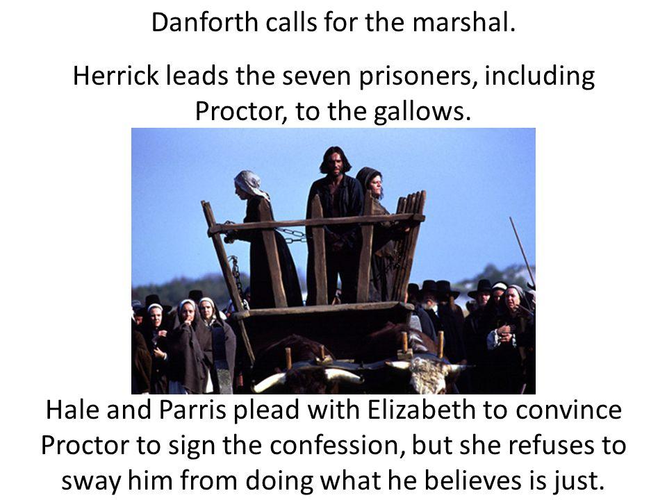 Danforth calls for the marshal