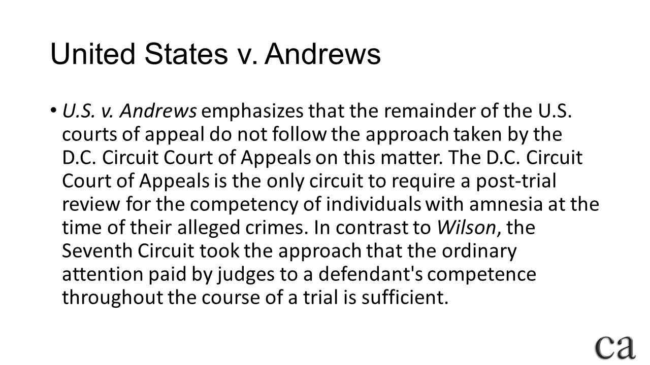 United States v. Andrews