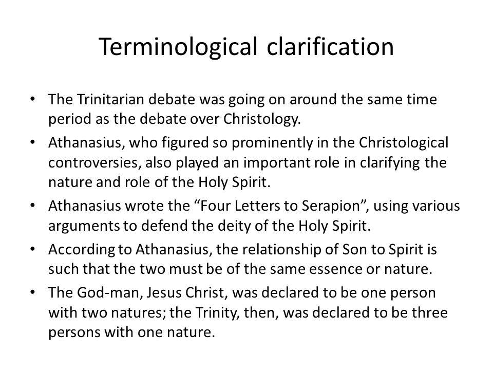 Terminological clarification