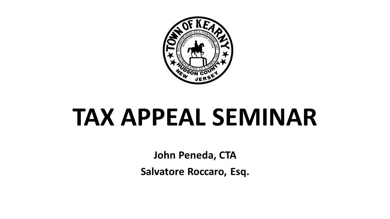 John Peneda, CTA Salvatore Roccaro, Esq.