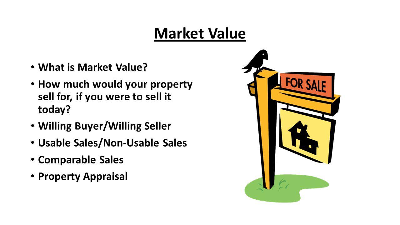 Market Value What is Market Value