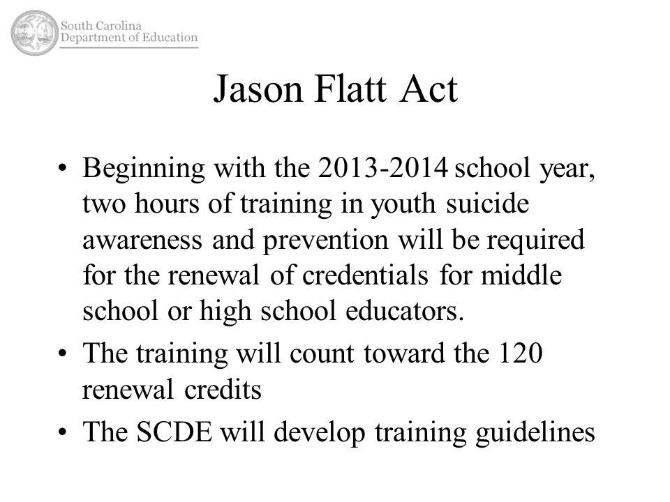 Jason Flatt Act