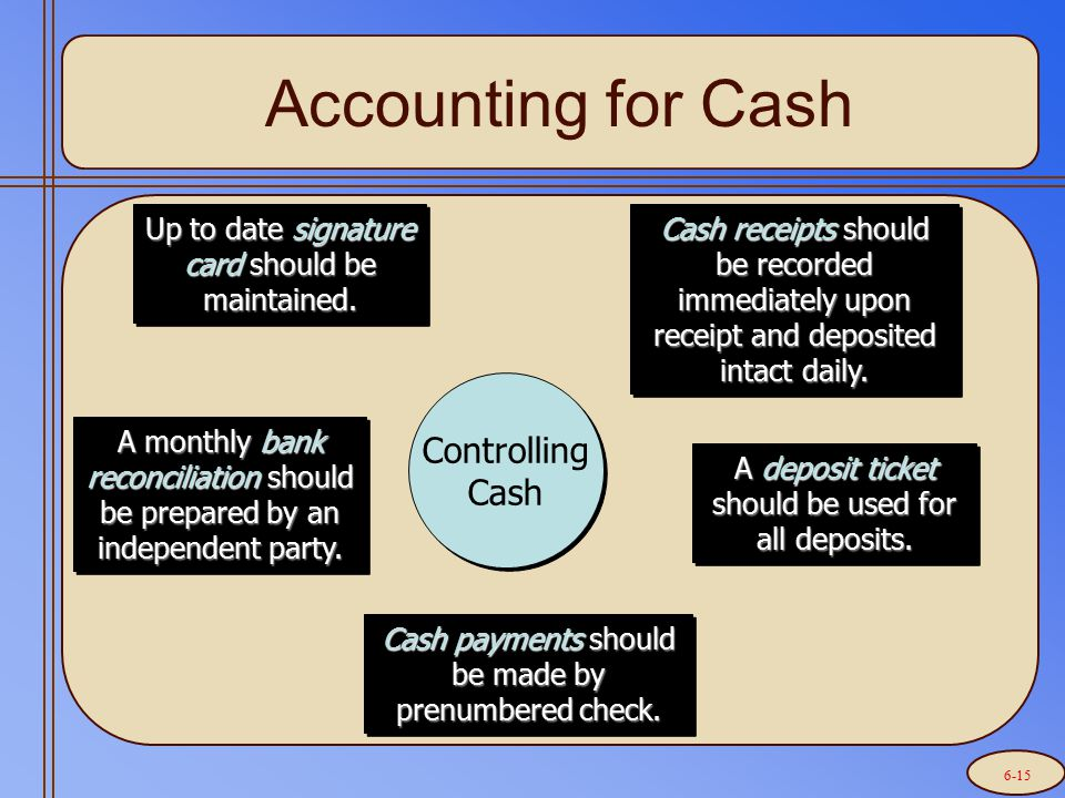 Prepare a bank reconciliation.