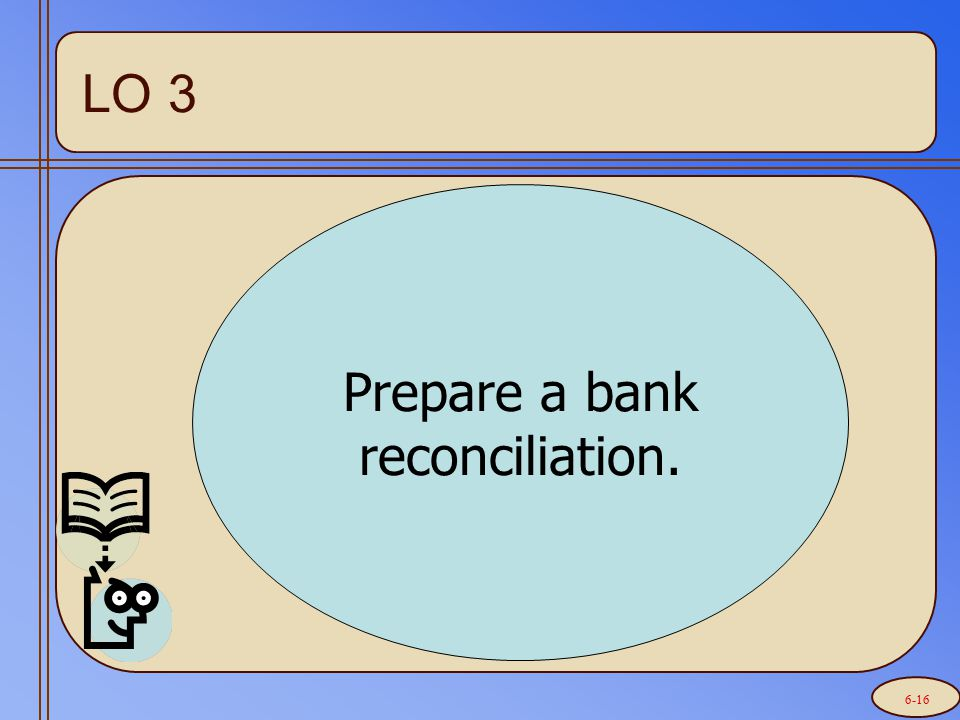 Reconciling the Bank Statement