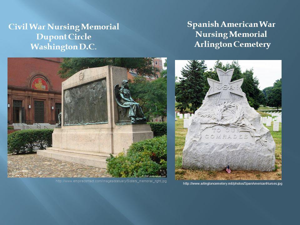Civil War Nursing Memorial