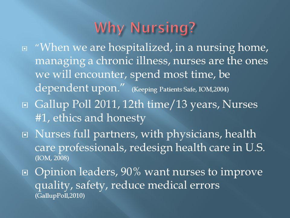 Why Nursing