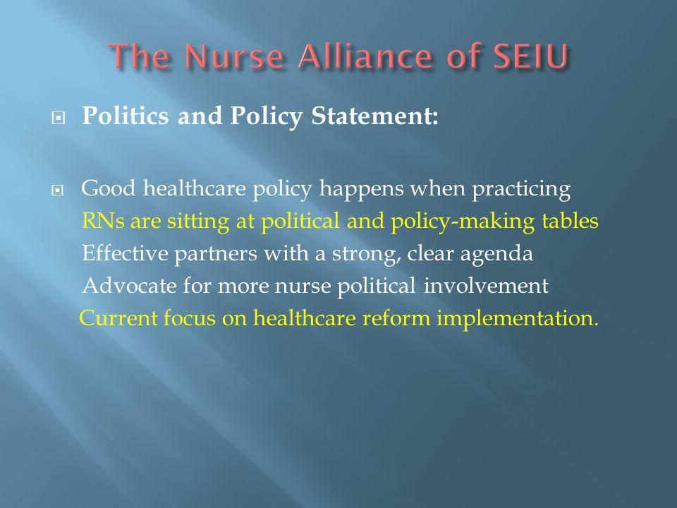 The Nurse Alliance of SEIU