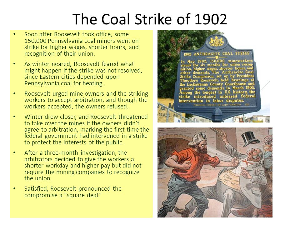 The Coal Strike of 1902