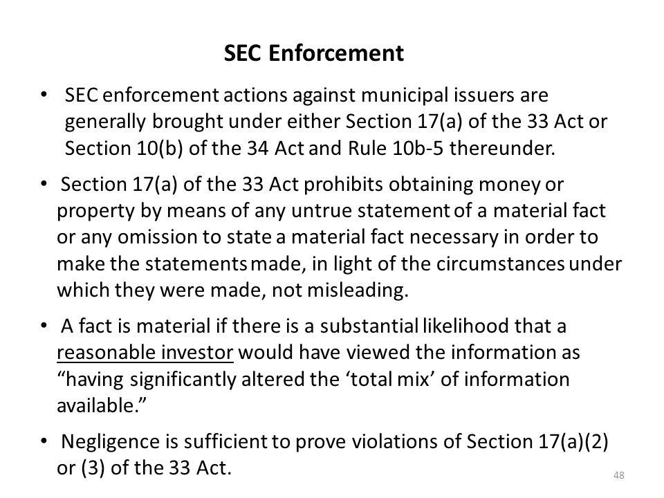 SEC Enforcement