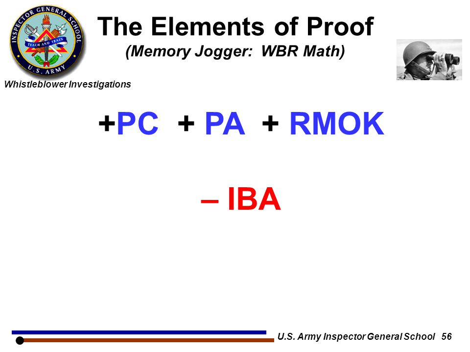 The Elements of Proof (Memory Jogger: WBR Math)