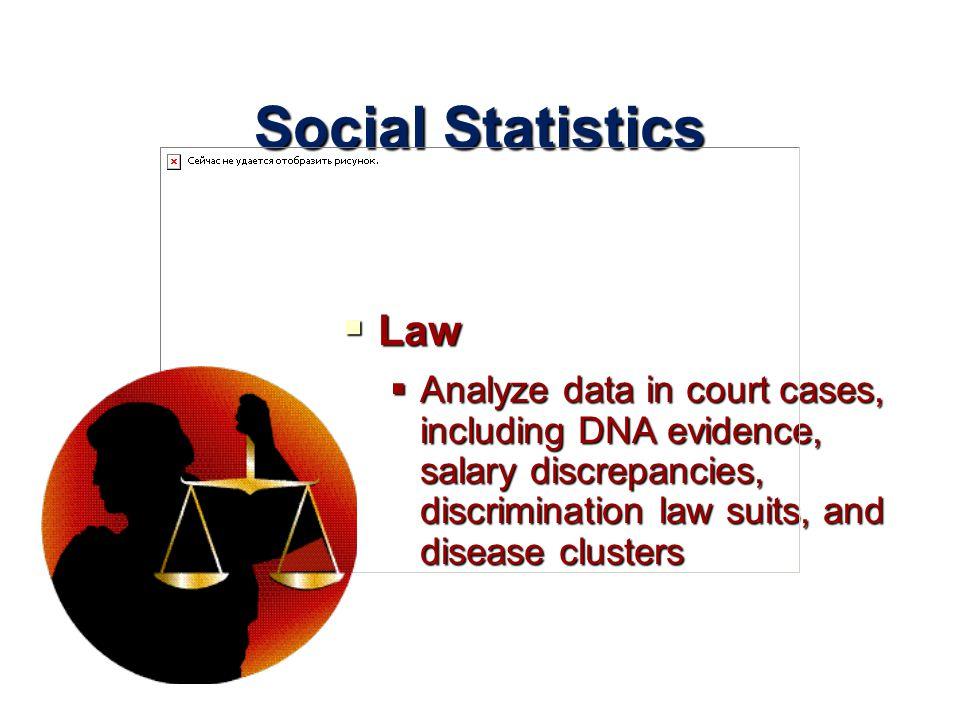 Social Statistics Law.