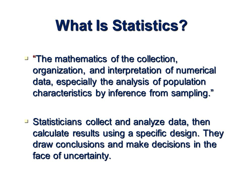what is statistics math in college We offer online math courses for college credit that cost a fraction of community college learn algebra, calculus & statistics at your own pace enroll now.