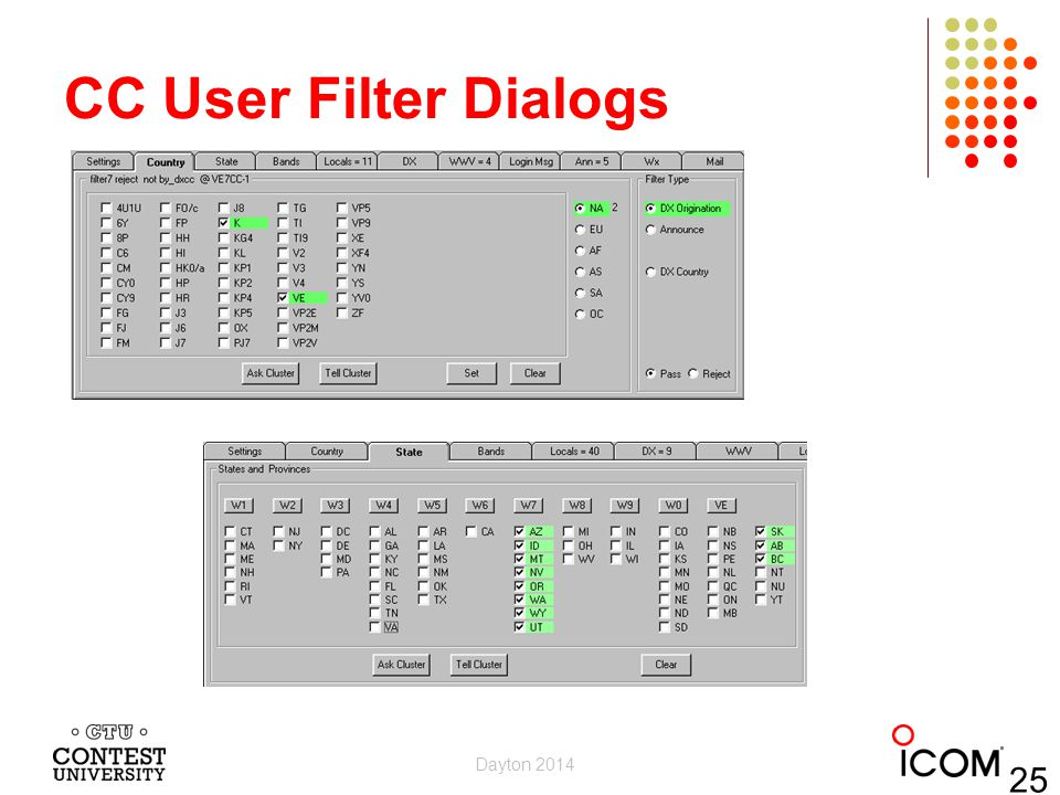 CC User Filter Dialogs Dayton 2014 25