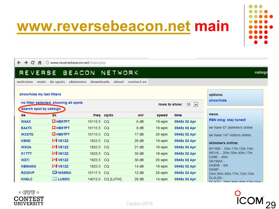 www.reversebeacon.net main