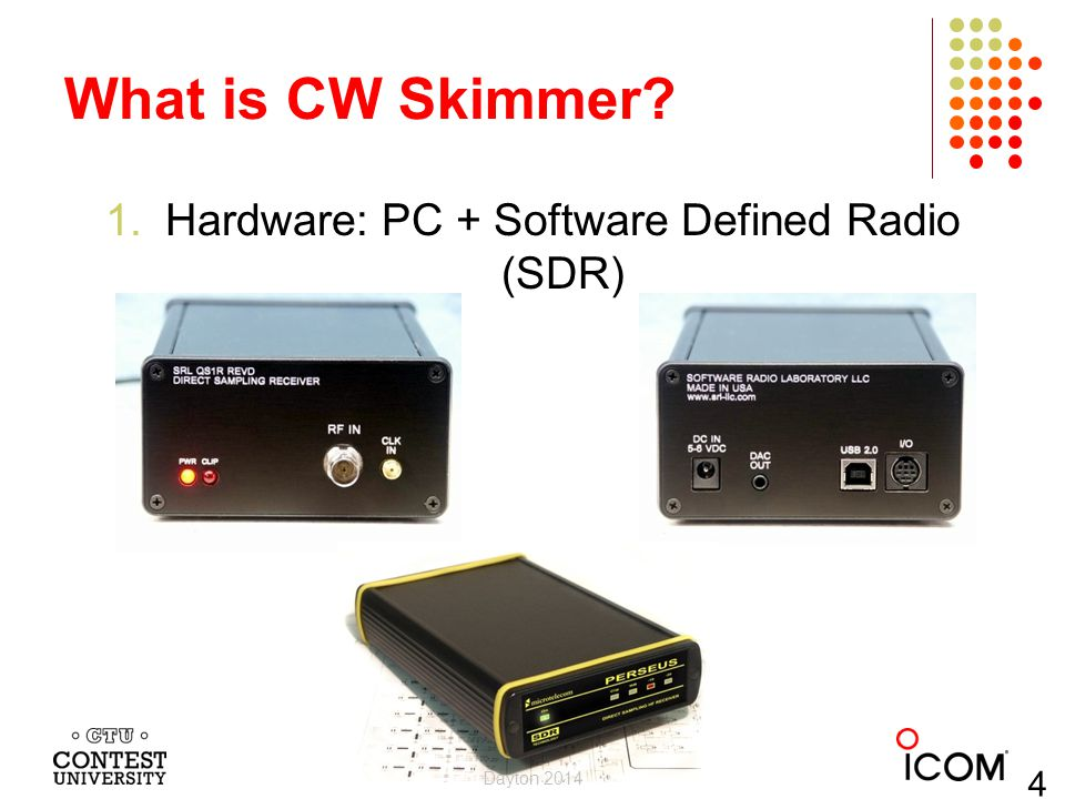 Hardware: PC + Software Defined Radio (SDR)