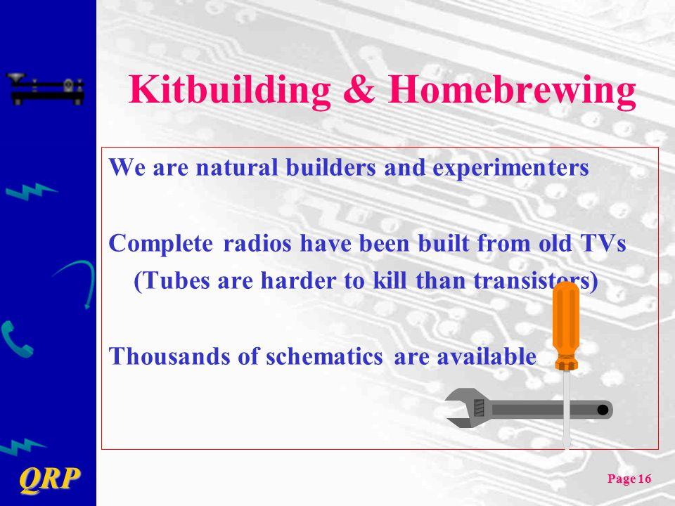 Kitbuilding & Homebrewing