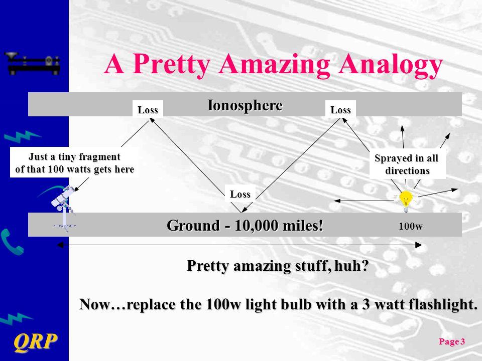 A Pretty Amazing Analogy