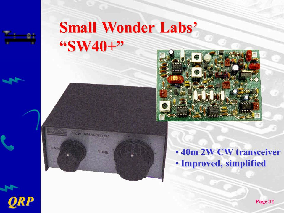 Small Wonder Labs' SW40+
