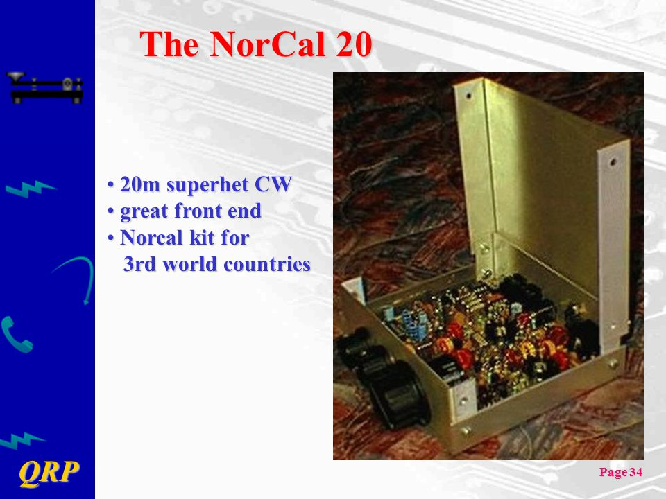 The NorCal 20 20m superhet CW great front end Norcal kit for